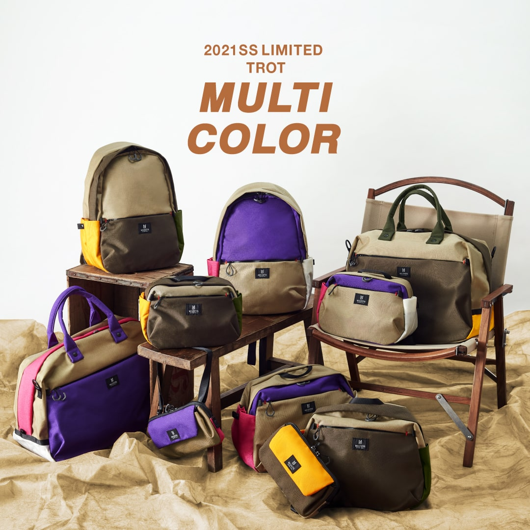 2021SS LIMITED TROT|MULTI COLOR