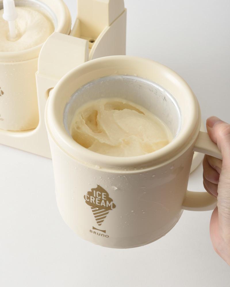 デュアルアイスクリームメーカー