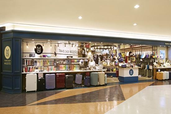 TRAVEL SHOP MILESTO 成田国際空港 1