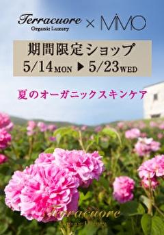 Terracuore 渋谷ヒカリエShinQs MIMCイベント