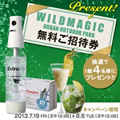 <SodaSparkle Faceboookキャンペーン> WILDMAGIC 無料ご招待券プレゼント!!