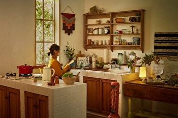 snug kitchen