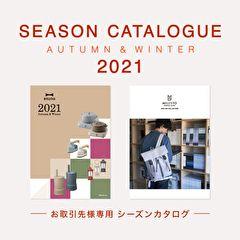 2021AW BRUNO/MILESTO シーズンカタログ