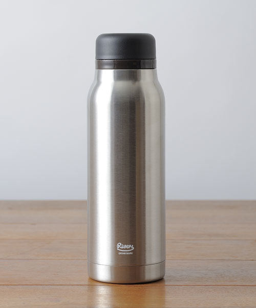フラスカー ステンレス製携帯魔法瓶 420 シルバー