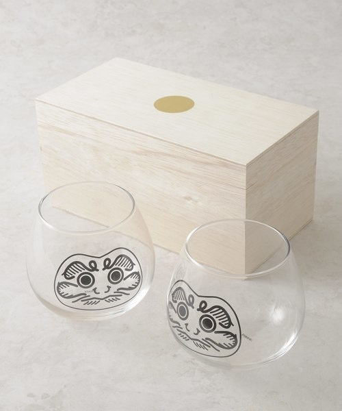 DARUMA GLASS 2PCS SET