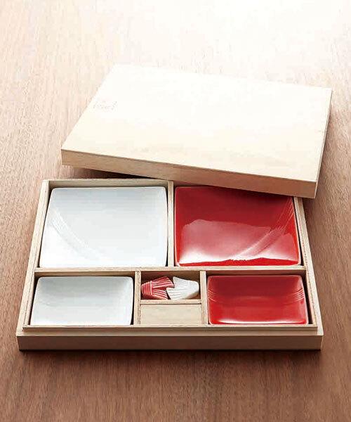 mizu-hiki 紅白器揃え