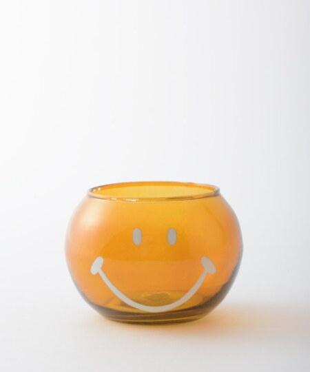 スマイリーフェイスガラスプランター