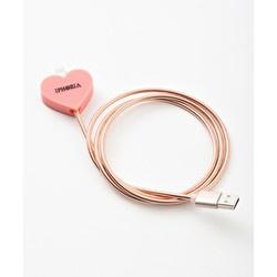 Metalic Heart Rosa