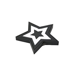 Star Black white