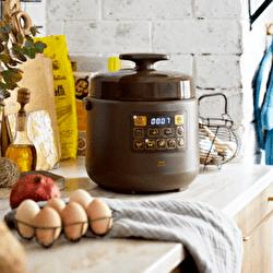 【BRUNO】「BRUNO crassy+」ほったらかし調理で毎日にゆとりをつくる電気圧力鍋「マルチ圧力クッカー」