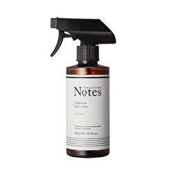 【TERRACUORE Notes】落ち着きのあるみずみずしく爽やかな香りのファブリック用芳香・消臭除菌ミスト