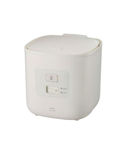 炊飯器 3合炊き ホワイトの通販   IDEA online